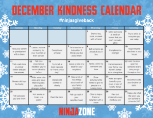 Ninja Kindness Calendar